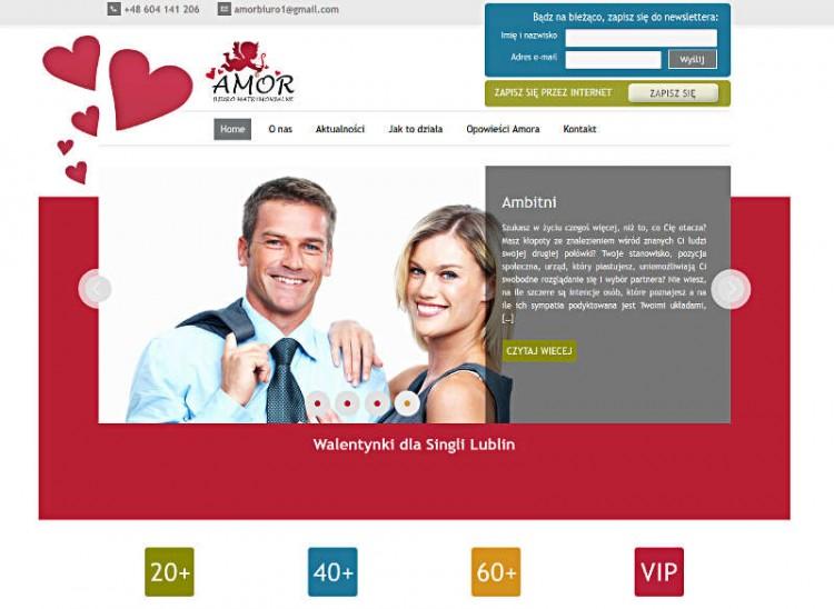 Widok strony web